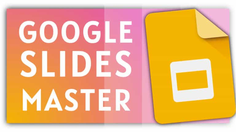 Google Slides Master